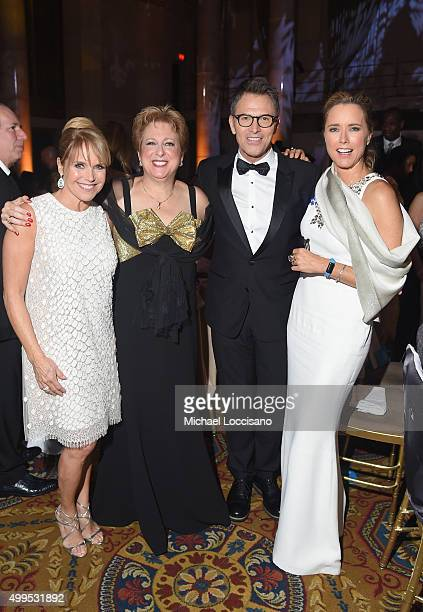 Journalist Katie Couric President and CEO US Fund for UNICEF Caryl Stern actor Tim Daly and UNICEF Ambassador Tea Leoni attend 11th Annual UNICEF...