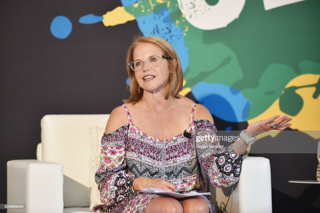Journalist Katie Couric speaks onstage during OZY FEST 2017 Presented By OZY.com at Rumsey Playfield on July 22, 2017 in New York City.