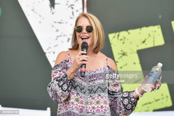 Journalist Katie Couric speaks onstage during OZY FEST 2017 Presented By OZYcom at Rumsey Playfield on July 22 2017 in New York City