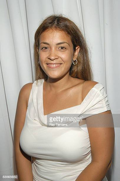 Journalist Kim Osorio attends Kanye West's 'Late Registration' Album Release Party at The Foundry August 30 2005 in Long Island City in the Queens...