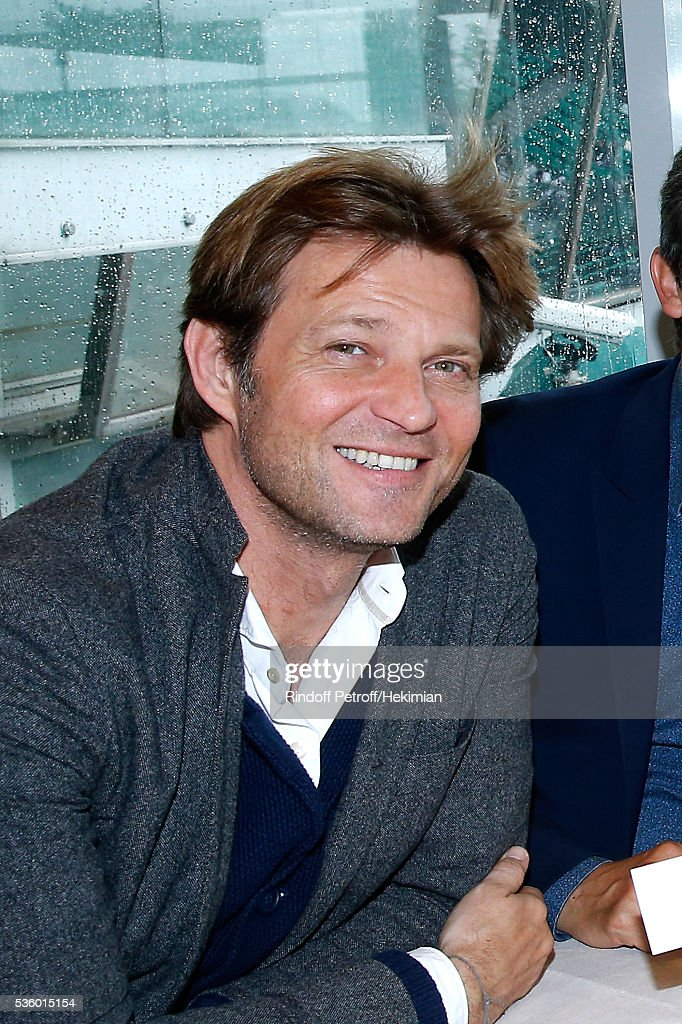 Journalist Laurent Delahousse attends the 'France Television' Lunch during Day Ten of the 2016 French Tennis Open at Roland Garros on May 31, 2016 in Paris, France.