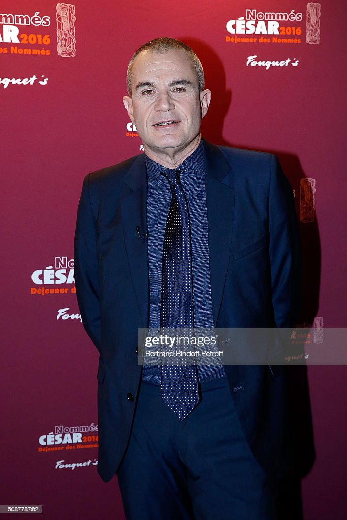 Journalist Laurent Weil attends 'Cesar 2016 Nominee Luncheon' at Le Fouquet's on February 6, 2016 in Paris, France.