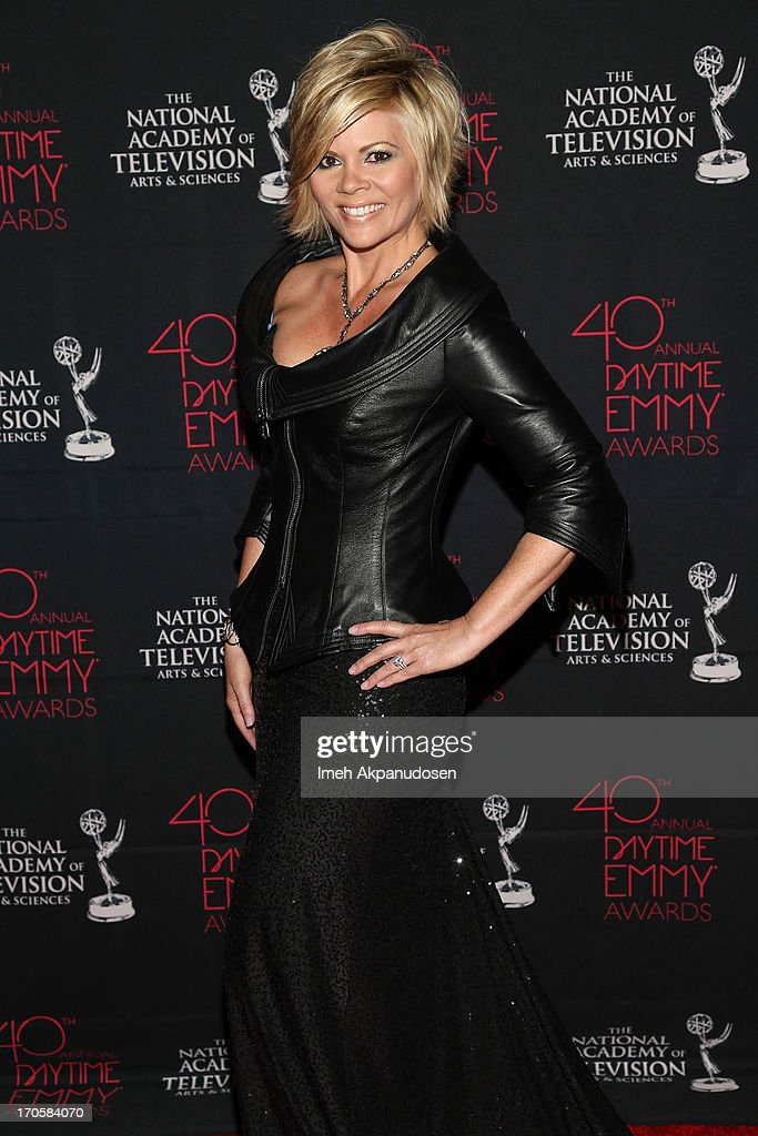 Journalist Leslie Miller attends The National Academy Of Television Arts & Sciences Presents The 40th Annual Daytime Entertainment Creative Arts Emmy Awards at Westin Bonaventure Hotel on June 14, 2013 in Los Angeles, California.