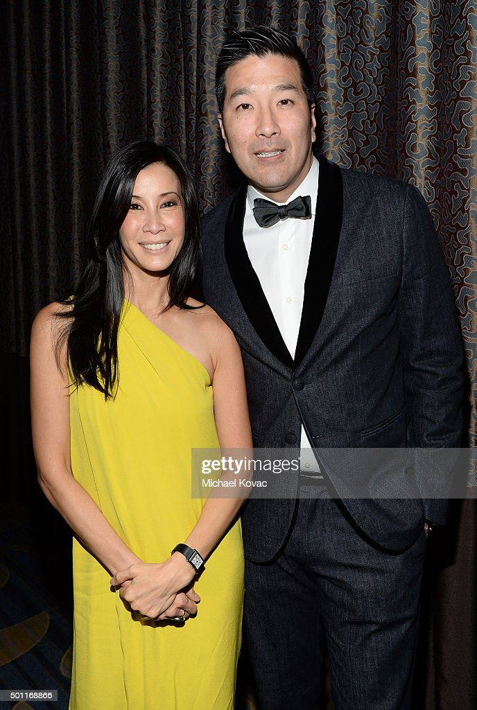 Journalist Lisa Ling and Dr Paul Song attend the 2015 Annual Spirit Of Liberty Awards Dinner at the Beverly Wilshire Four Seasons Hotel on December...