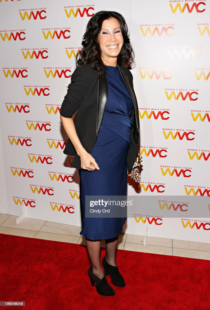 Journalist <a gi-track='captionPersonalityLinkClicked' href=/galleries/search?phrase=Lisa+Ling&family=editorial&specificpeople=240577 ng-click='$event.stopPropagation()'>Lisa Ling</a> attends the 2012 Women's Media Awards at Guastavino's on November 13, 2012 in New York City.