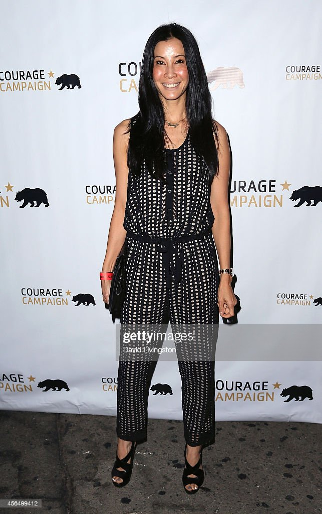 TV journalist Lisa Ling attends the 2014 Spirit of Courage Awards at the House of Blues Sunset Strip on October 1 2014 in West Hollywood California
