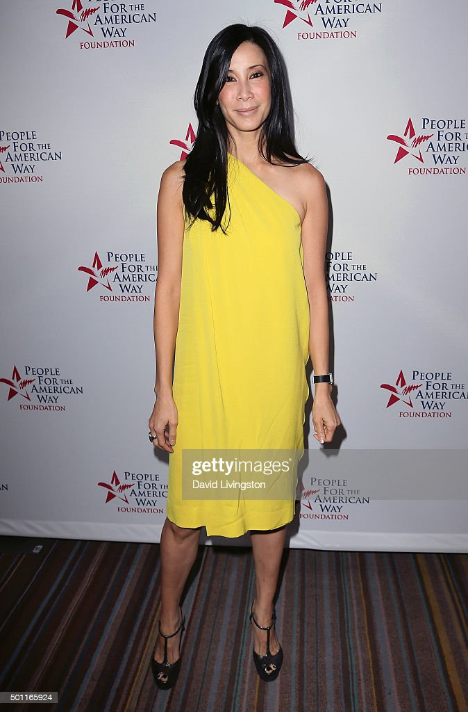 Journalist Lisa Ling attends the 2015 Annual Spirit of Liberty Awards Dinner at the Beverly Wilshire Four Seasons Hotel on December 12 2015 in...
