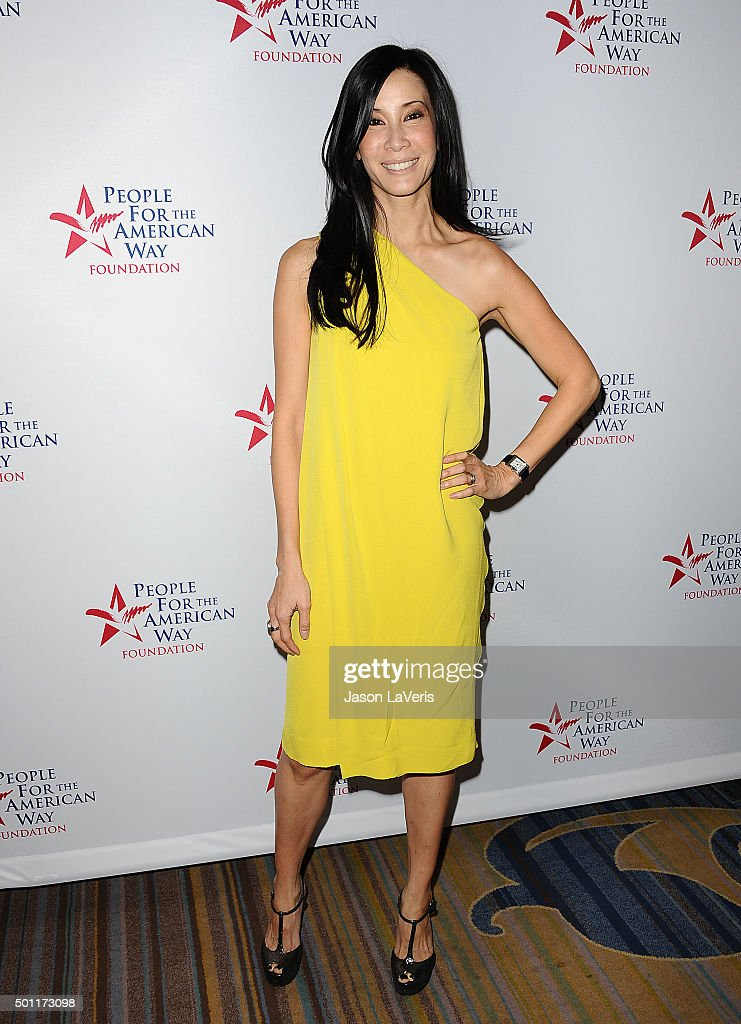 Journalist Lisa Ling attends the 2015 Spirit of Liberty Awards dinner at the Beverly Wilshire Four Seasons Hotel on December 12 2015 in Beverly Hills...