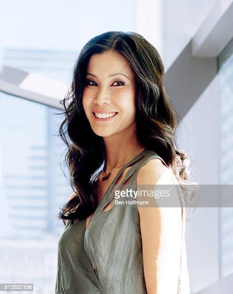 Journalist Lisa Ling is photographed for Glamour Magazine on April 26 2010 in New York City