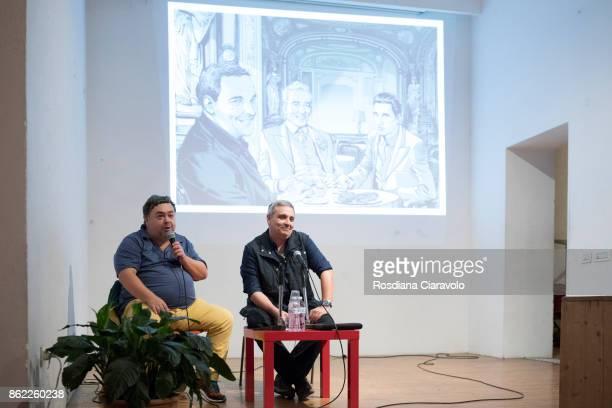 Journalist Luca Crovi and Writer Maurizio De Giovanni talk about Graphic Novel based on Commissario Ricciardi Novel Series by Maurizio De Giovanni on...