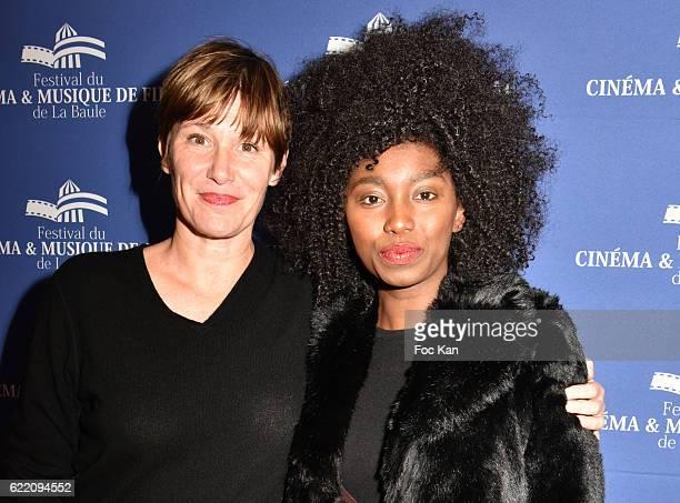 TV journalist Maitena Biraben and singer Inna Modja attend the 'Cinema Et Musique De Film 2016' 3rd Festival At La Baule Day One on November 9 2016...