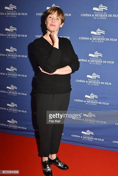 TV journalist Maitena Biraben attend the 'Cinema Et Musique De Film 2016' 3rd Festival At La Baule Day One on November 9 2016 in La Baule France