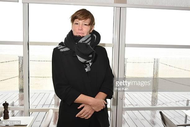 TV journalist Maitena Biraben attends the attend theÊLunch at the Hermitage Plage Restaurant l as part of 'Cinema Et Musique De Film 2016' 3rd...