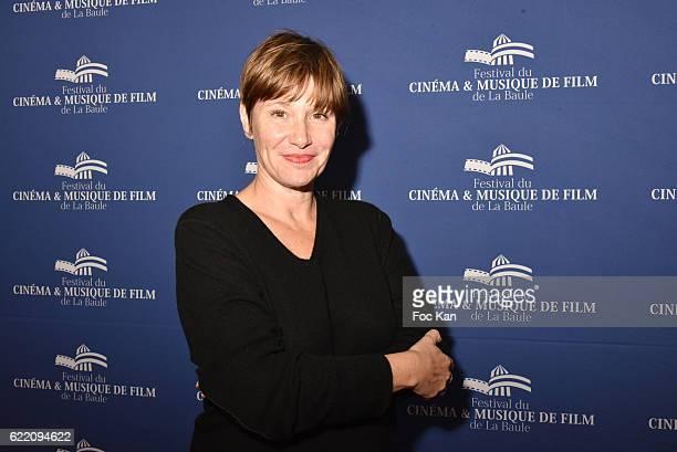 TV journalist Maitena Biraben attends the 'Cinema Et Musique De Film 2016' 3rd Festival At La Baule Day One on November 9 2016 in La Baule France