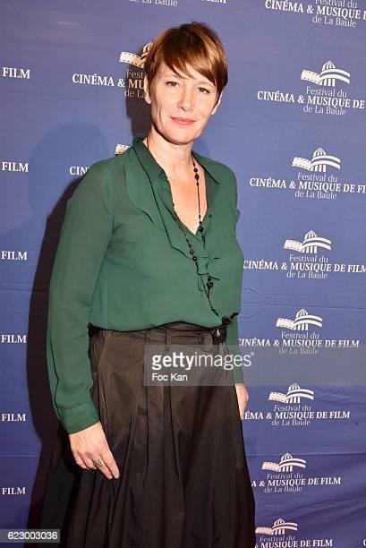 TV journalist Maitena Biraben attends the Tribute to Lalo Schifrin Concert at Palais des Congres as part of 'Cinema Et Musique De Film 2016' 3rd...
