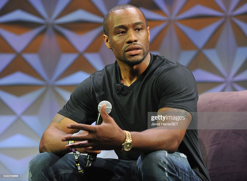 Journalist Marc Lamont Hill speaks at the