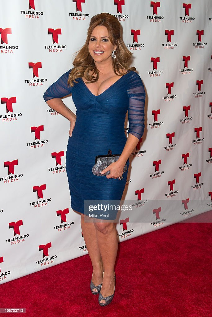 Journalist Maria Celeste Arraras attends the 2013 Telemundo Upfront at Frederick P. Rose Hall, Jazz at Lincoln Center on May 14, 2013 in New York City.