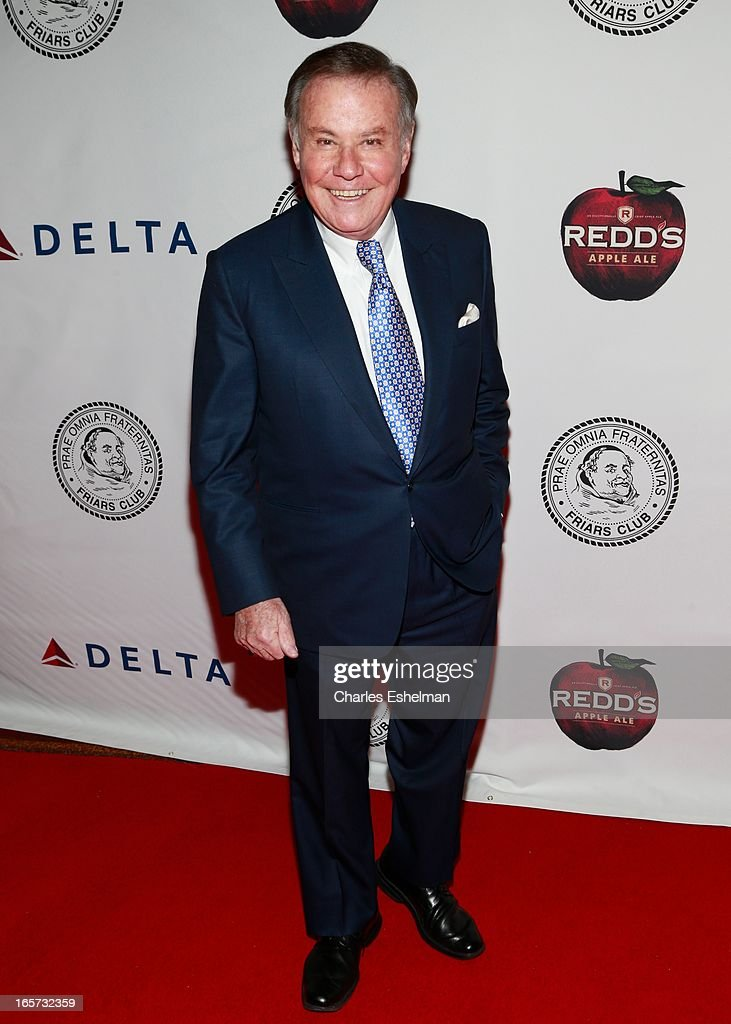 TV journalist Marvin Scott attends The Friars Club Roast Honors Jack Black at New York Hilton and Towers on April 5, 2013 in New York City.