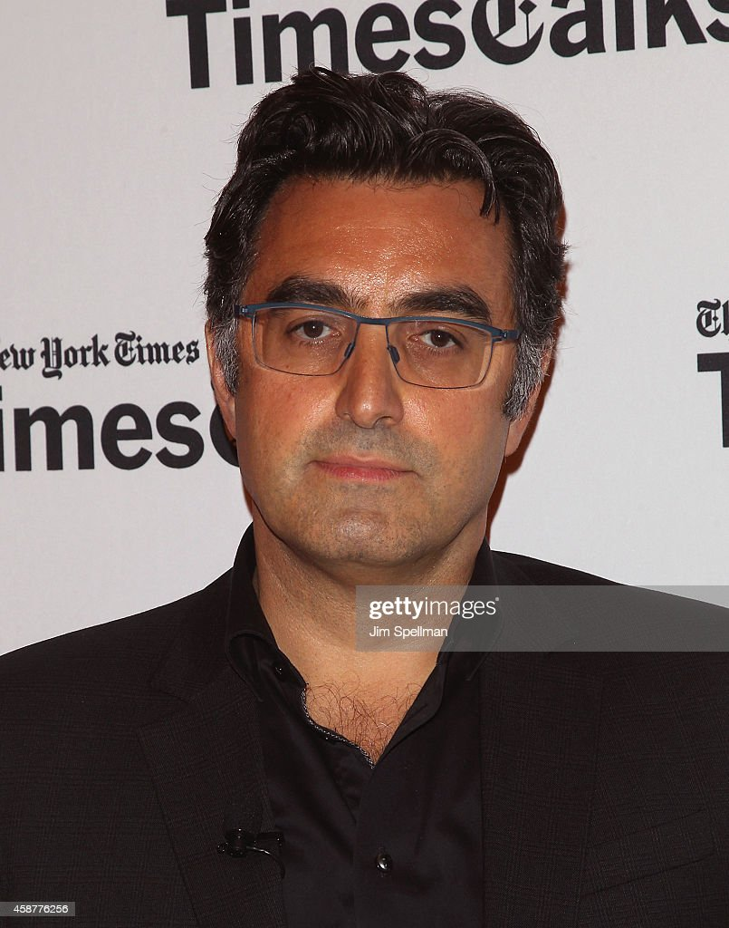 Journalist Maziar Bahari attends the TimesTalks with Jon Stewart and Maziar Bahari at TheTimesCenter on November 10, 2014 in New York City.