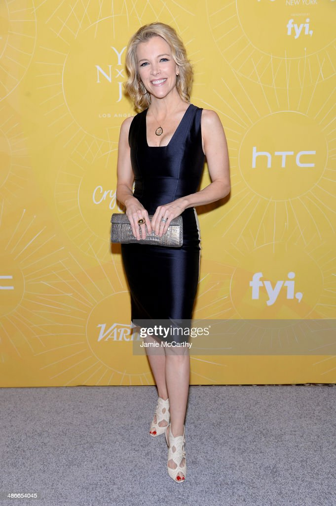 Journalist <a gi-track='captionPersonalityLinkClicked' href=/galleries/search?phrase=Megyn+Kelly&family=editorial&specificpeople=5417318 ng-click='$event.stopPropagation()'>Megyn Kelly</a> attends Variety Power Of Women: New York presented by FYI at Cipriani 42nd Street on April 25, 2014 in New York City.