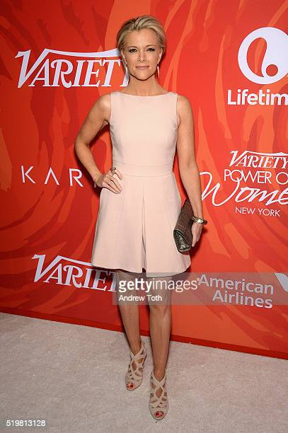 Journalist Megyn Kelly attends Variety's Power Of Women New York 2016 at Cipriani Midtown on April 8 2016 in New York City