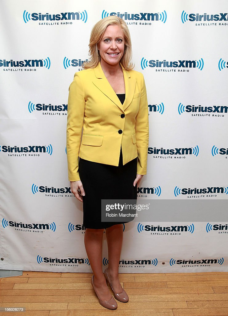Journalist Melissa Francis visits the SiriusXM Studios on November 13, 2012 in New York City.