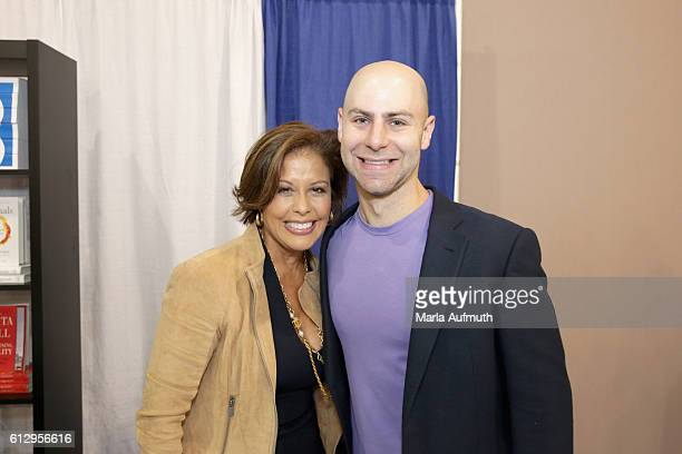 Journalist Michele Ruiz and author Adam Grant attend the Pennsylvania Conference for Women 2016 at Pennsylvania Convention Center on October 6 2016...