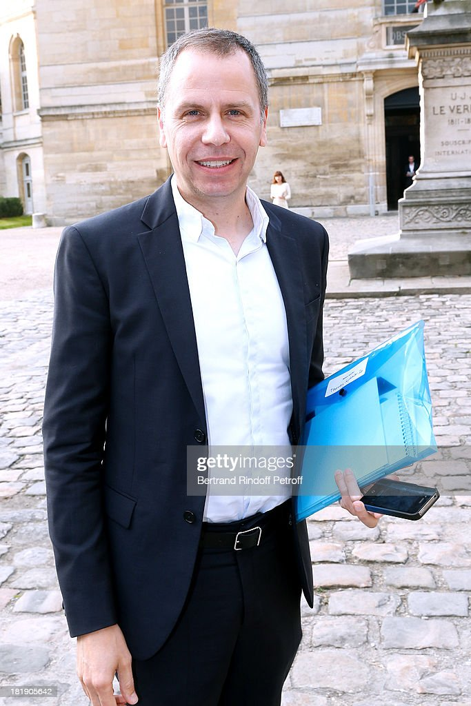 Journalist Miles arriving at Balenciaga show as part of the Paris Fashion Week Womenswear Spring/Summer 2014, held at Paris Observatory on September 26, 2013 in Paris, France.