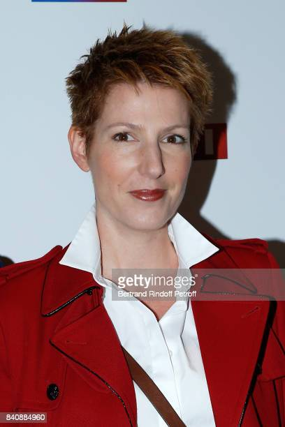 Journalist Natacha Polony attends the LCI Press Conference to Announce Their TV Schedule for 2017/2018 on August 30 2017 in Paris France