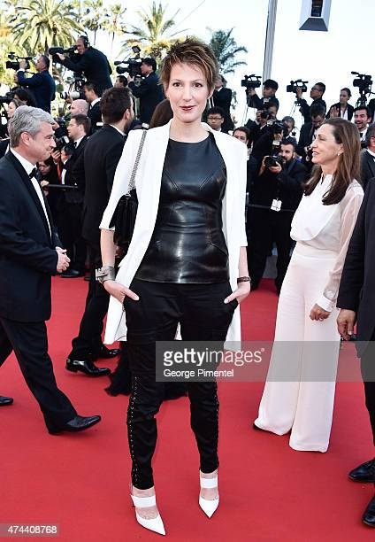 Journalist Natacha Polony attends the 'Little Prince' Premiere during the 68th annual Cannes Film Festival on May 22 2015 in Cannes France