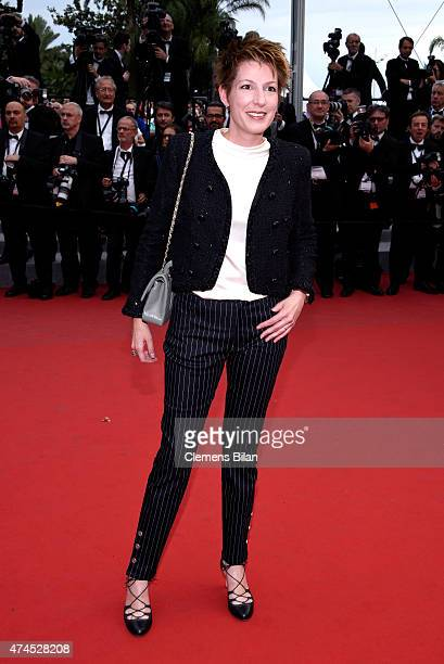 Journalist Natacha Polony attends the Premiere of 'Macbeth' during the 68th annual Cannes Film Festival on May 23 2015 in Cannes France