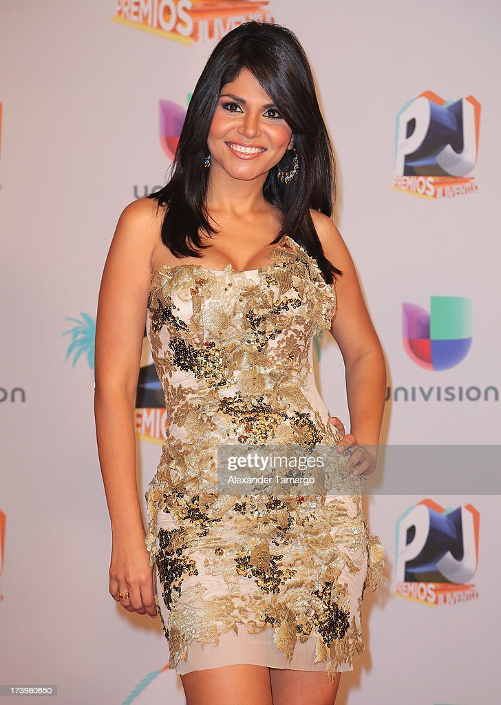 Journalist Natalia Cruz attends the Premios Juventud 2013 at Bank United Center on July 18, 2013 in Miami, Florida.