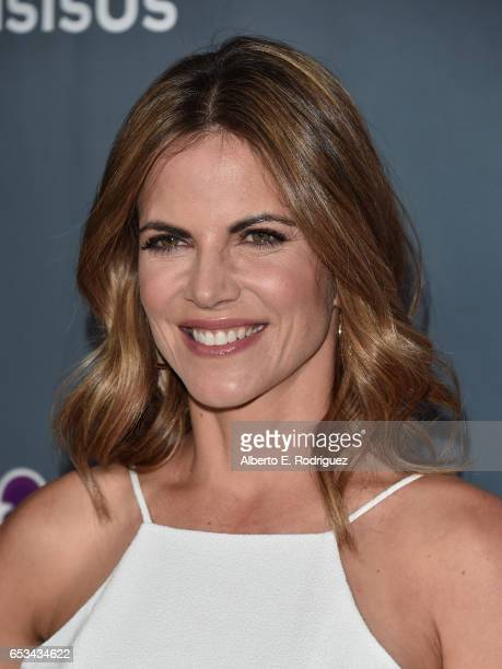 Journalist Natalie Morales attend a screening of the season finale of NBC's 'This Is Us' at The Directors Guild Of America on March 14 2017 in Los...
