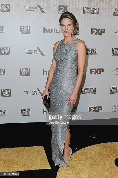 Journalist Natalie Morales attends FOX and FX's 2017 Golden Globe Awards after party at The Beverly Hilton Hotel on January 8 2017 in Beverly Hills...