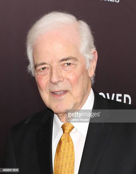 Journalist Nick Clooney attends 'The Monuments Men' premiere at Ziegfeld Theater on February 4 2014 in New York City New York