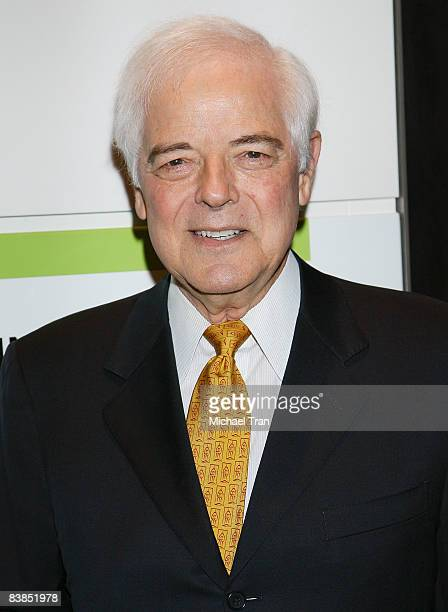Journalist Nick Clooney father of actor George Clooney introduces the film 'Moments That Changed Us' on November 28 2008 in Washington DC The film...