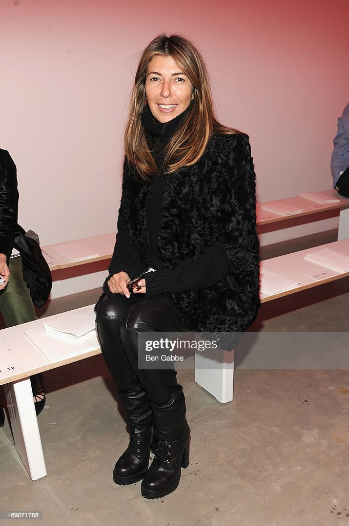 Journalist <a gi-track='captionPersonalityLinkClicked' href=/galleries/search?phrase=Nina+Garcia&family=editorial&specificpeople=592222 ng-click='$event.stopPropagation()'>Nina Garcia</a> attends the Proenza Schouler fashion show during Mercedes-Benz Fashion Week Fall 2014 on February 12, 2014 in New York City.