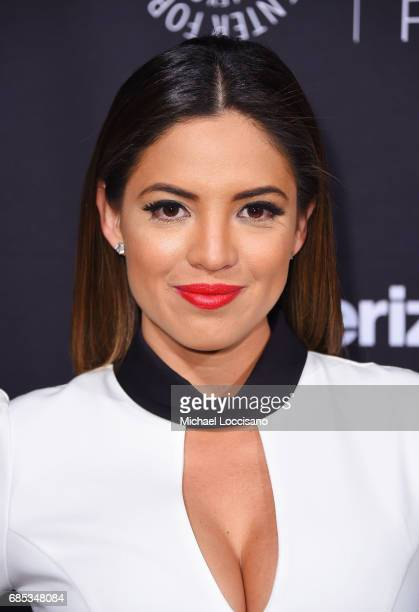 Journalist Pamela Silva Conde attends the The Paley Honors Celebrating Women In Television event at Cipriani Wall Street at on May 17 2017 in New...