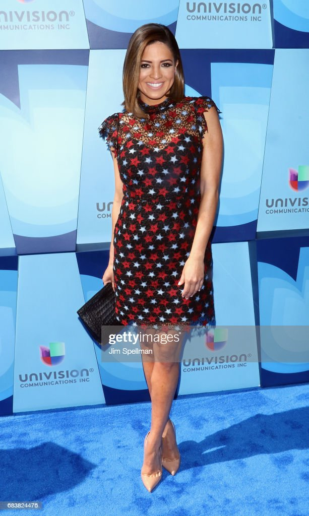 Journalist Pamela Silva Conde attends Univision's 2017 Upfront at the Lyric Theatre on May 16, 2017 in New York City.