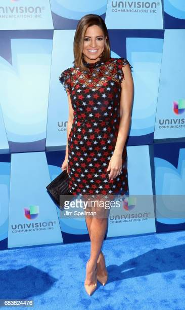 Journalist Pamela Silva Conde attends Univision's 2017 Upfront at the Lyric Theatre on May 16 2017 in New York City
