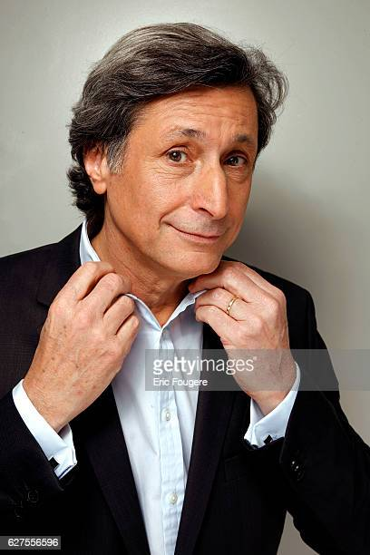 Journalist Patrick de Carolis Photographed in PARIS