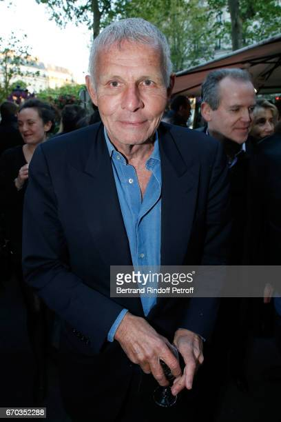 Journalist Patrick Poivre d'Arvor attends 'La Closerie des Lilas' Literary Awards 2017 at La Closerie des Lilas on April 19 2017 in Paris France