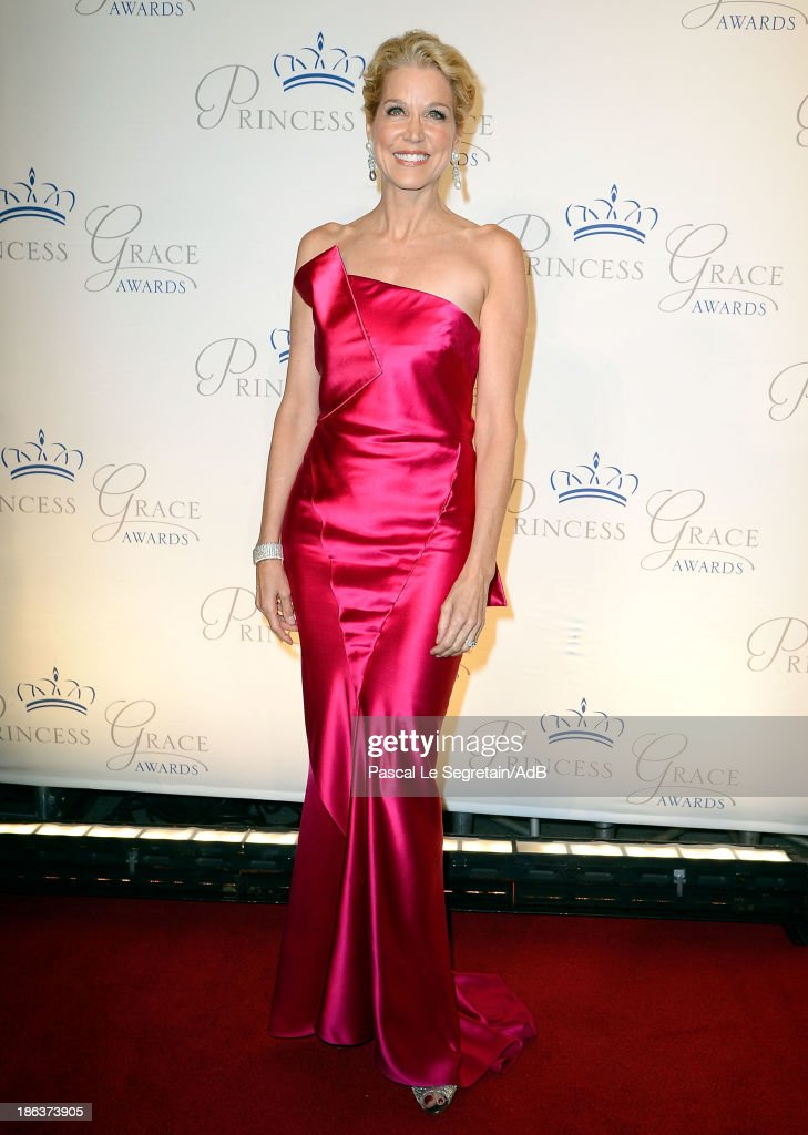 Journalist <a gi-track='captionPersonalityLinkClicked' href=/galleries/search?phrase=Paula+Zahn&family=editorial&specificpeople=206450 ng-click='$event.stopPropagation()'>Paula Zahn</a> attends the 2013 Princess Grace Awards Gala at Cipriani 42nd Street on October 30, 2013 in New York City.