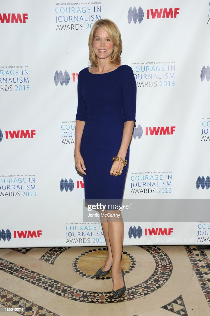 Journalist <a gi-track='captionPersonalityLinkClicked' href=/galleries/search?phrase=Paula+Zahn&family=editorial&specificpeople=206450 ng-click='$event.stopPropagation()'>Paula Zahn</a> attends the International Women's Media Foundation's 2013 Courage In Journalism And Lifetime Achievement Awards at Cipriani 42nd Street on October 23, 2013 in New York City.