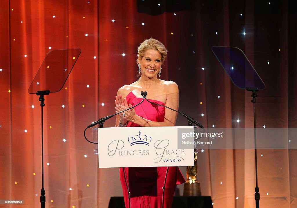 Journalist <a gi-track='captionPersonalityLinkClicked' href=/galleries/search?phrase=Paula+Zahn&family=editorial&specificpeople=206450 ng-click='$event.stopPropagation()'>Paula Zahn</a> speaks onstage at the 2013 Princess Grace Awards Gala at Cipriani 42nd Street on October 30, 2013 in New York City.