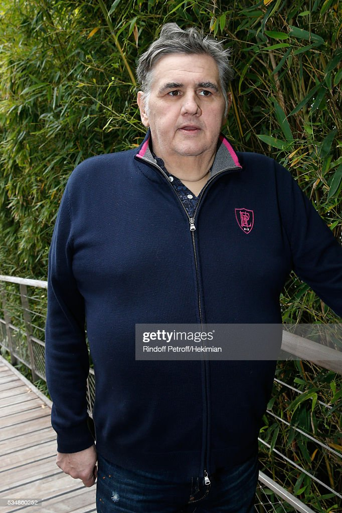 Journalist Pierre Menes attends Day Seven of the 2016 French Tennis Open at Roland Garros on May 28, 2016 in Paris, France.