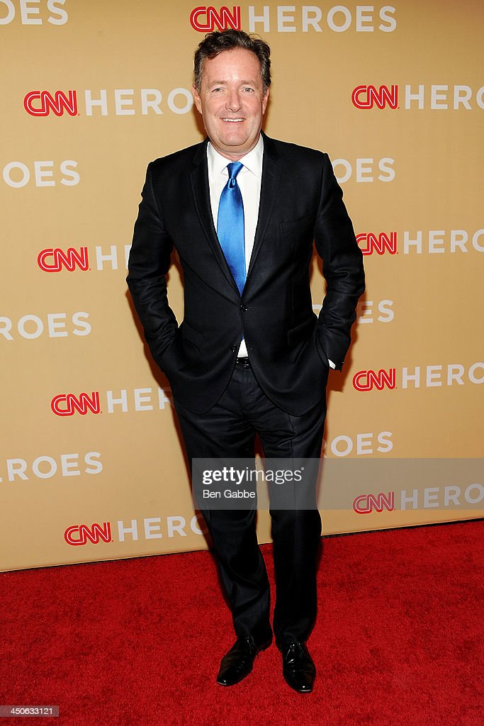 Journalist <a gi-track='captionPersonalityLinkClicked' href=/galleries/search?phrase=Piers+Morgan&family=editorial&specificpeople=216509 ng-click='$event.stopPropagation()'>Piers Morgan</a> attends the 2013 CNN Heroes at the American Museum of Natural History on November 19, 2013 in New York City.