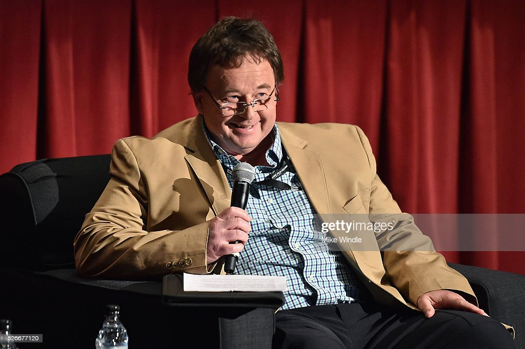 Journalist Randy Williams speaks onstage during 'The Endless Summer' screening during day 3 of the TCM Classic Film Festival 2016 on April 30, 2016 in Los Angeles, California. 25826_008