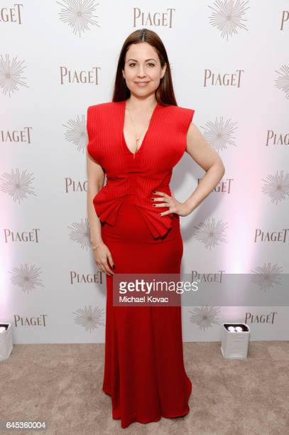 Journalist Raya Abirached with Piaget at the 2017 Film Independent Spirit Awards at Santa Monica Pier on February 25 2017 in Santa Monica California