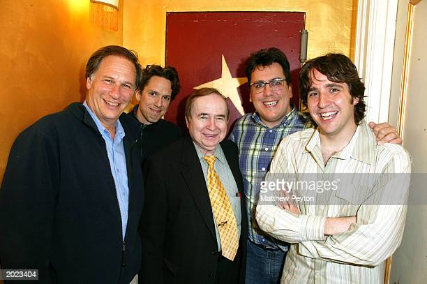 Journalist Robert Krulwich John Linnell member of the music group They Might Be Giants former television talk show host Joe Franklin John Flansburgh...